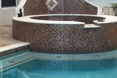 Custom pool by Agua Construction & Agua Pools