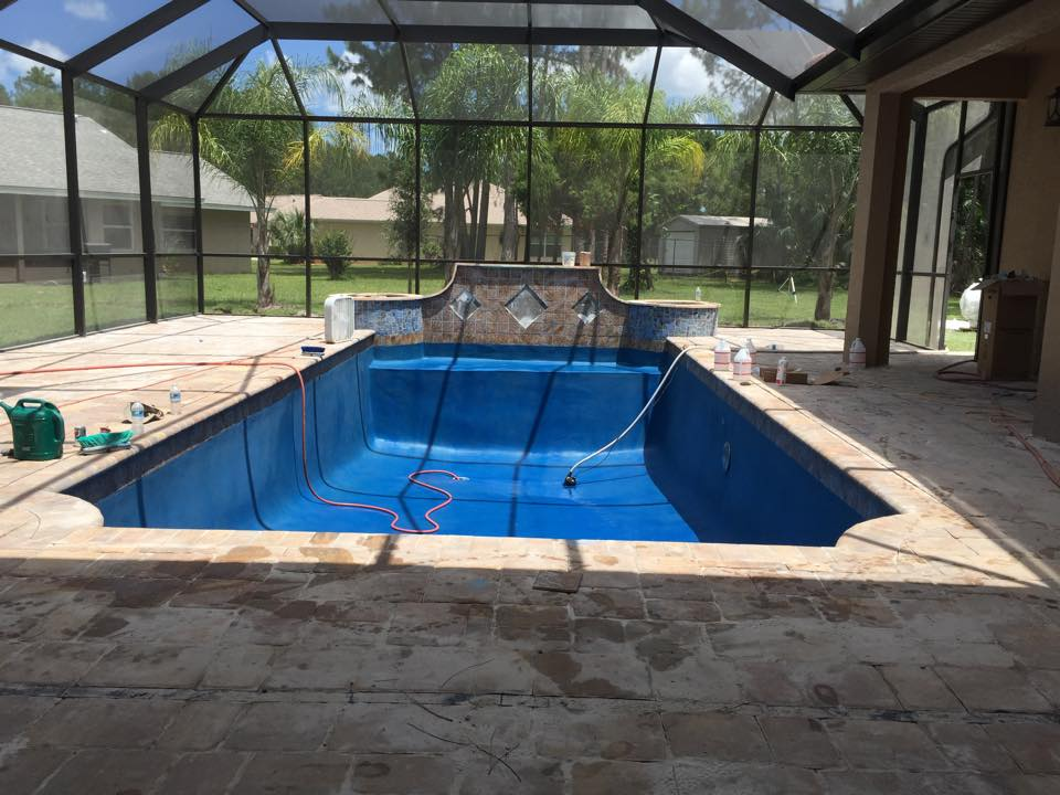 One of a kind custom pool construction in palm coast for In ground pool contractors