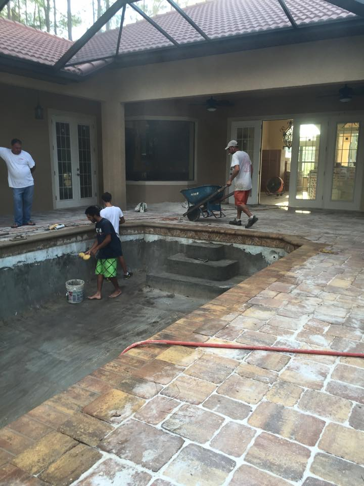 One Of A Kind Custom Pool Construction In Palm Coast