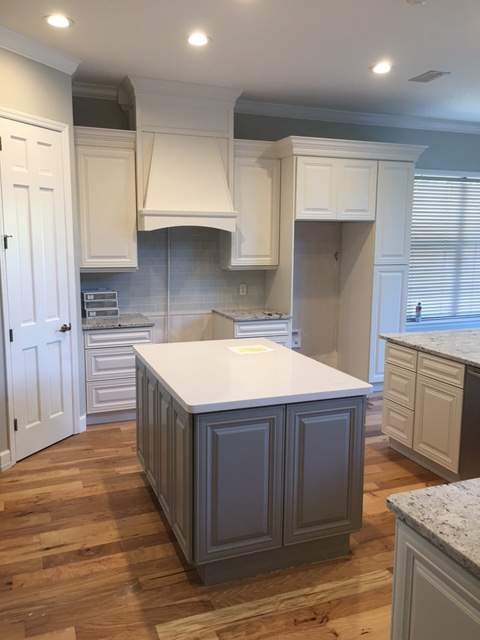 Complete kitchen remodel in Palm Coast.