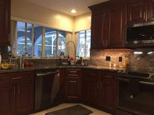 Kitchen remodel in Palm Coast home