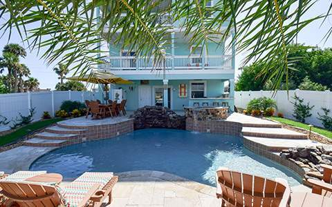 Palm Coast custom pool builders