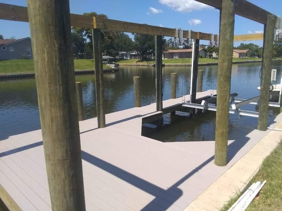 Palm Coast boat dock construction