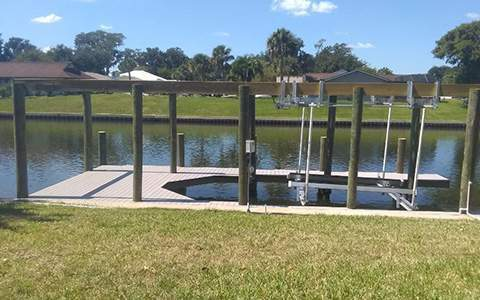 Palm Coast Boat Dock Construction